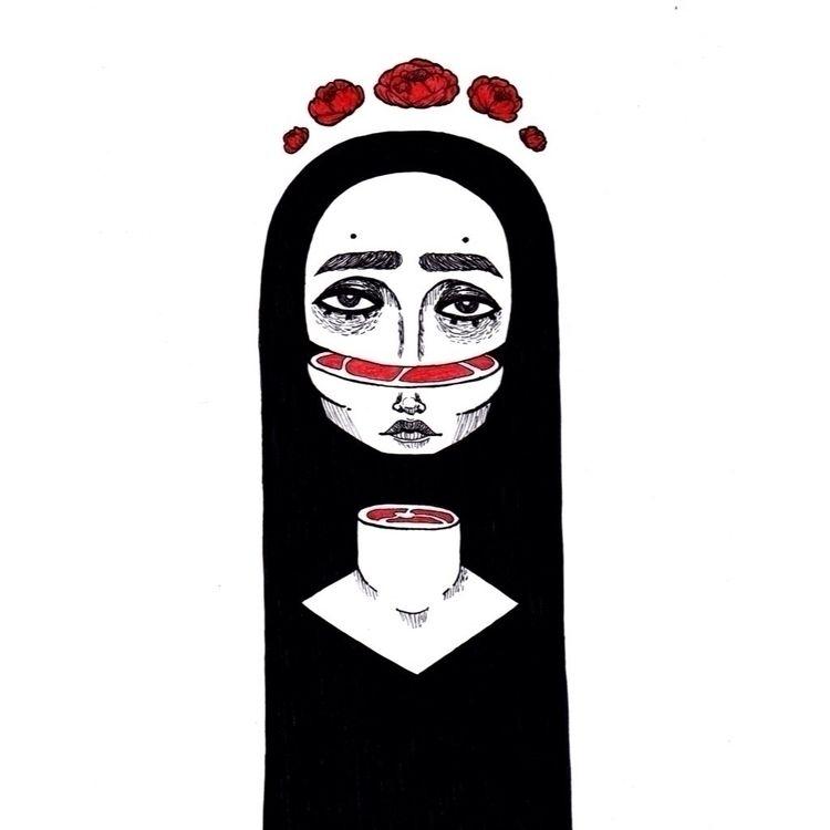 Tragically Romanticized  - illustration - teadoorante | ello