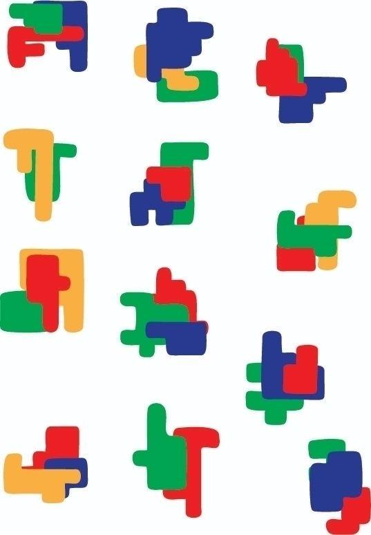 Figuras 1 - design, digital, diseño - j_r_s_ | ello