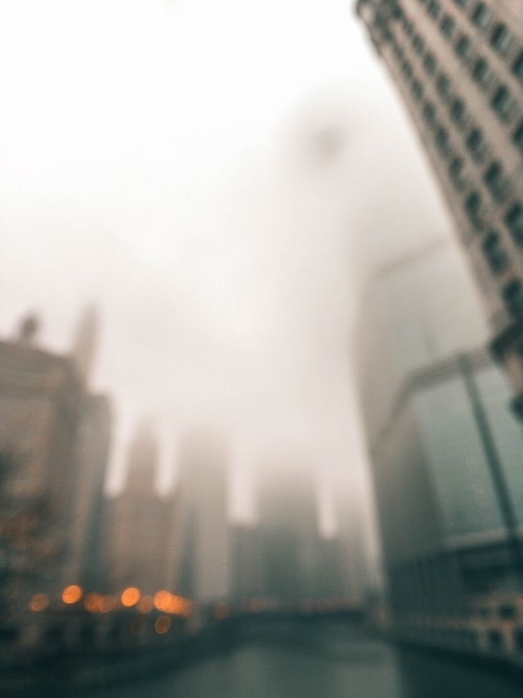foggy days Chicago feel - will_bones | ello