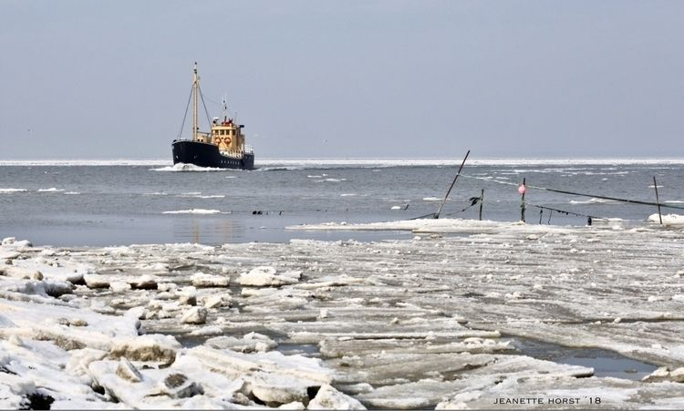 Waddenzee 'Lauwers' Wintertime  - jeanettehorstphotography | ello