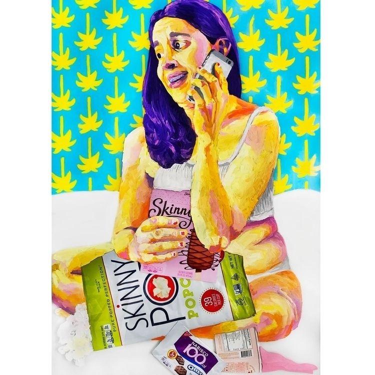 "WIP Snack Attack""  - popsurrealism - sarahnospecialname | ello"