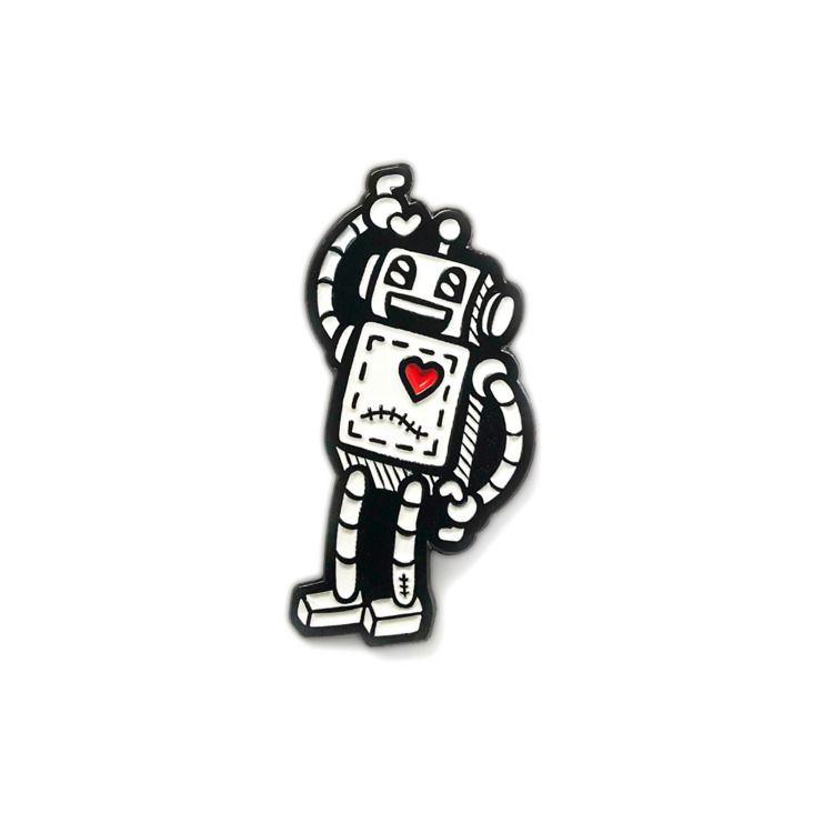 :robot:Timrobot Soft Enamel Pin - timrobot | ello