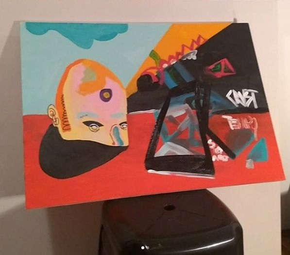 Abstração da minha realidade (2 - gabrielcrust | ello