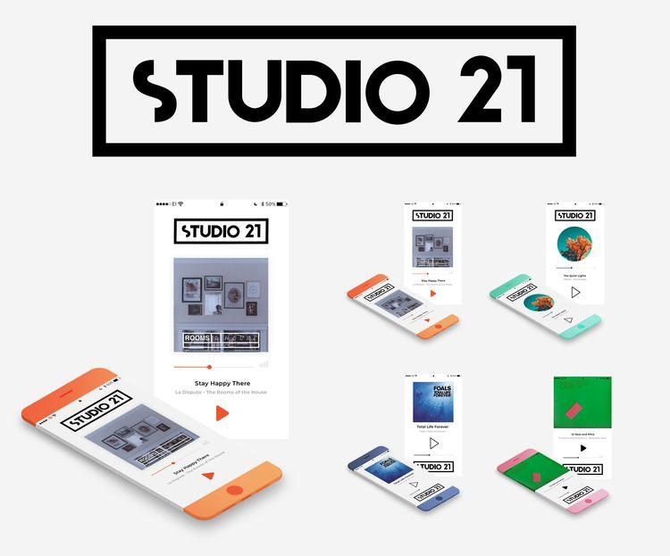STUDIO 21 - small music app Cod - annasarviro | ello