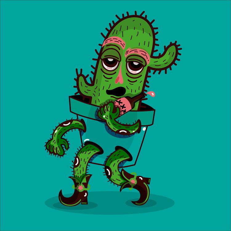 Cactus boy - adrianaduque | ello