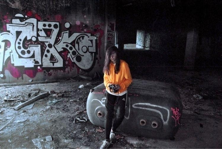 photography, love, orange, contrast - elena__anpi | ello