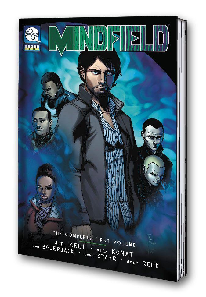 Mindfield Trade Paperback Store - comicbuzz   ello