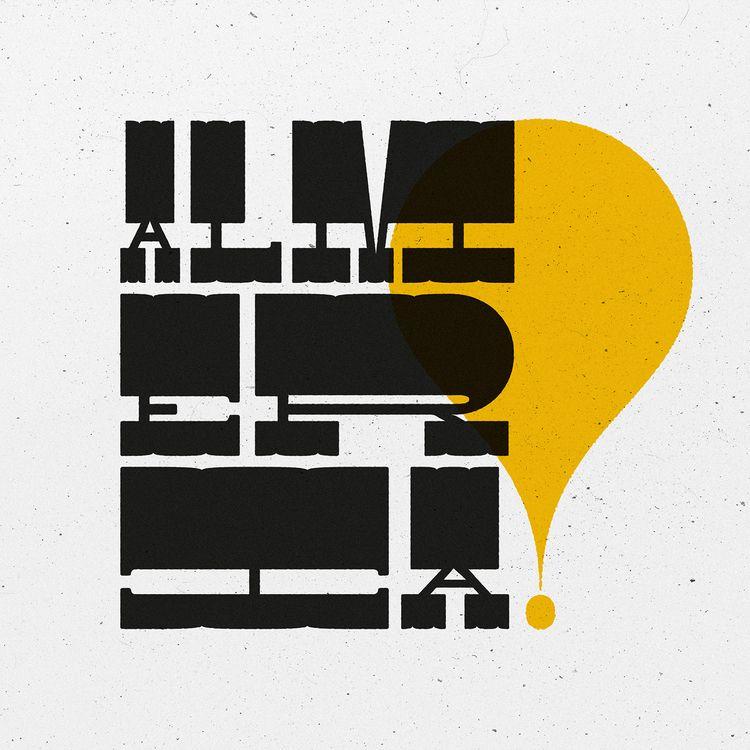 Almeria! home - lettering, type - anibalgarcia | ello