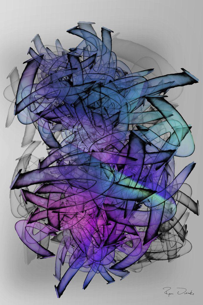 Fluid flowing lines rhythmic vi - ovko | ello