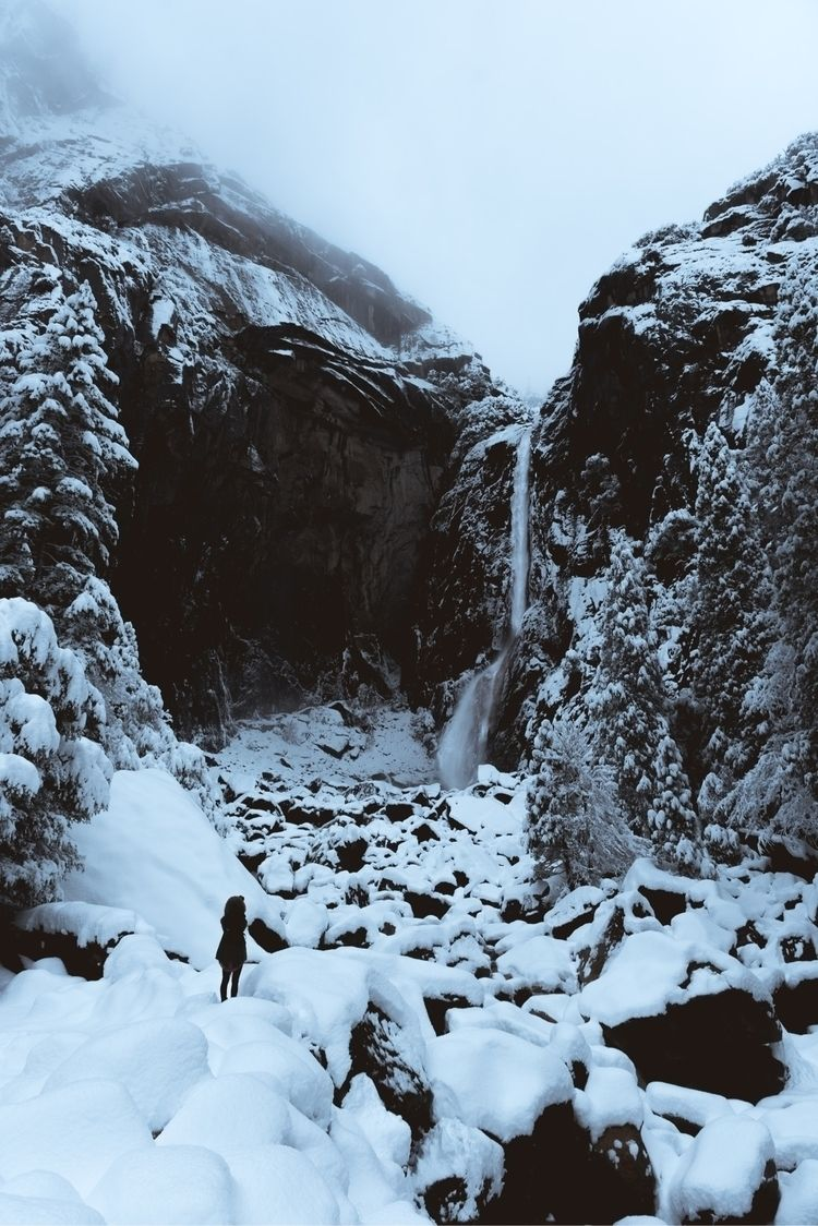 snow storm yosemite - photography - tnellly | ello