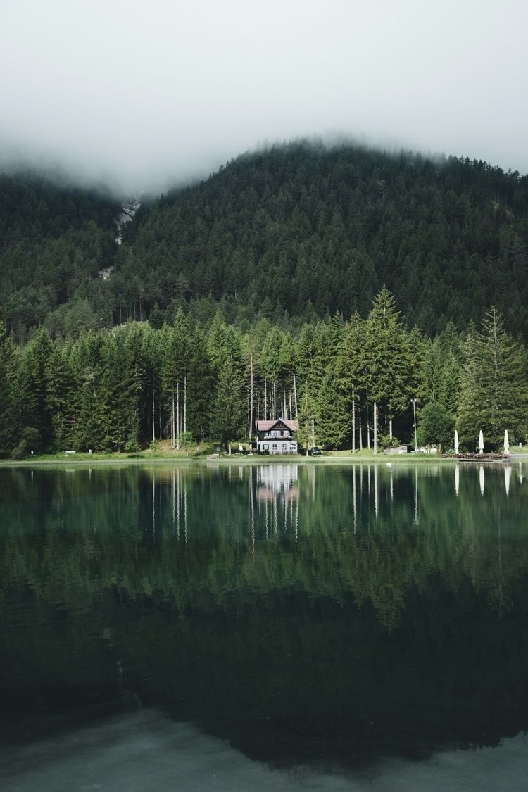 exploring alps italy, view - lake - thocra | ello
