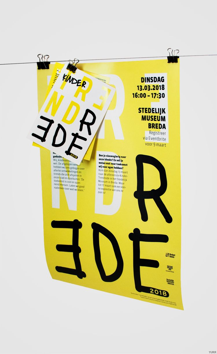 Kinder Trendrede ~ Poster, Uitn - yurrstudio | ello