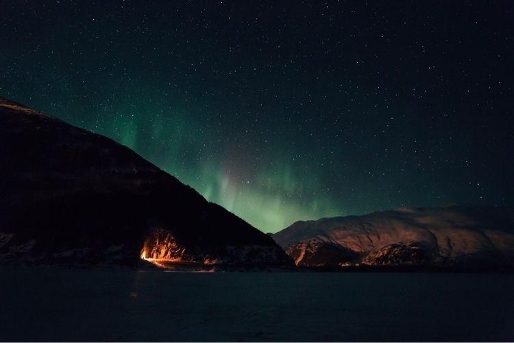 time venturing south Aurora.  - alaska - bradcarter | ello