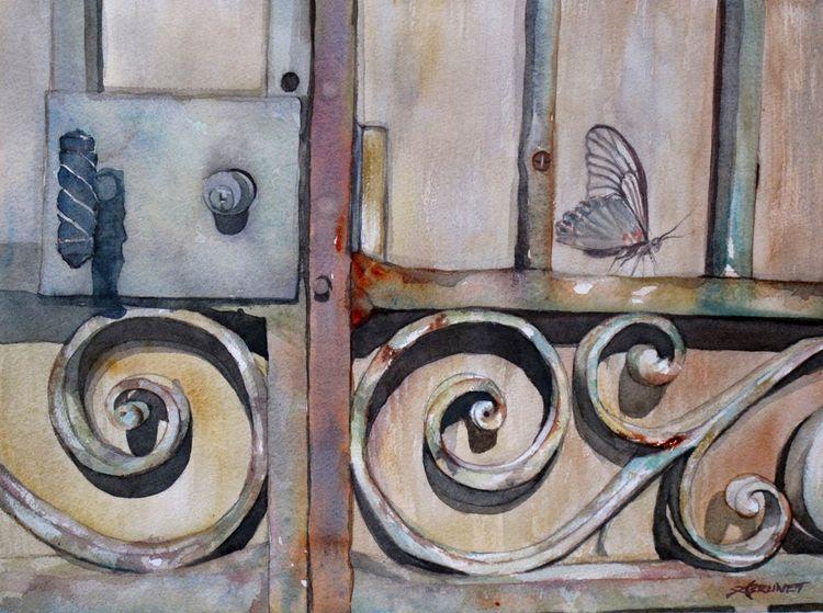 Metamorphose, 40x50 cm, Follow  - emmaquarellewatercolor | ello