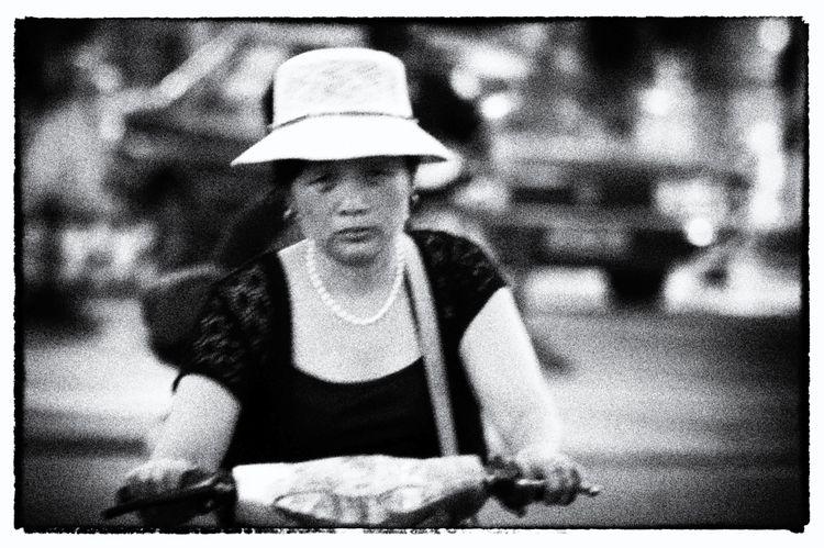 blackandwhite, China, Chine, vélo - phildub | ello