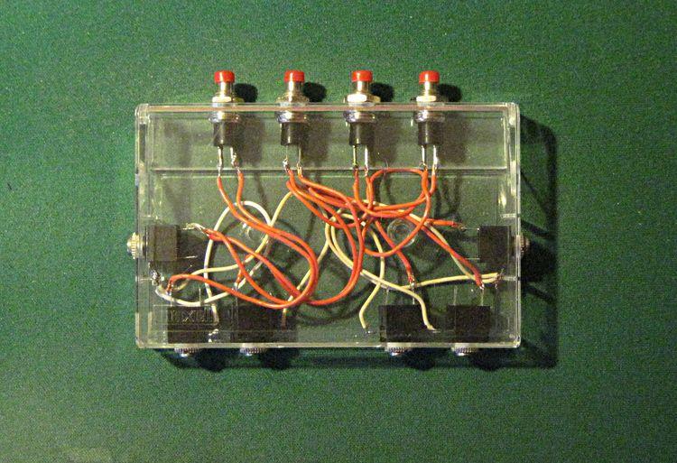 Cassette Box Mixer, 2010. input - w_a_davison | ello