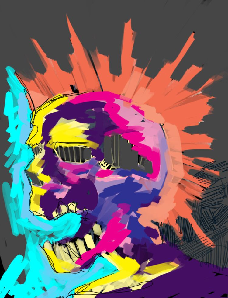 Exploited, Digital Painting Pho - underodzart   ello