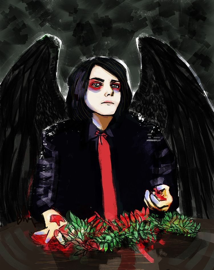sorrows - gerardway, illustration - andaelentari | ello