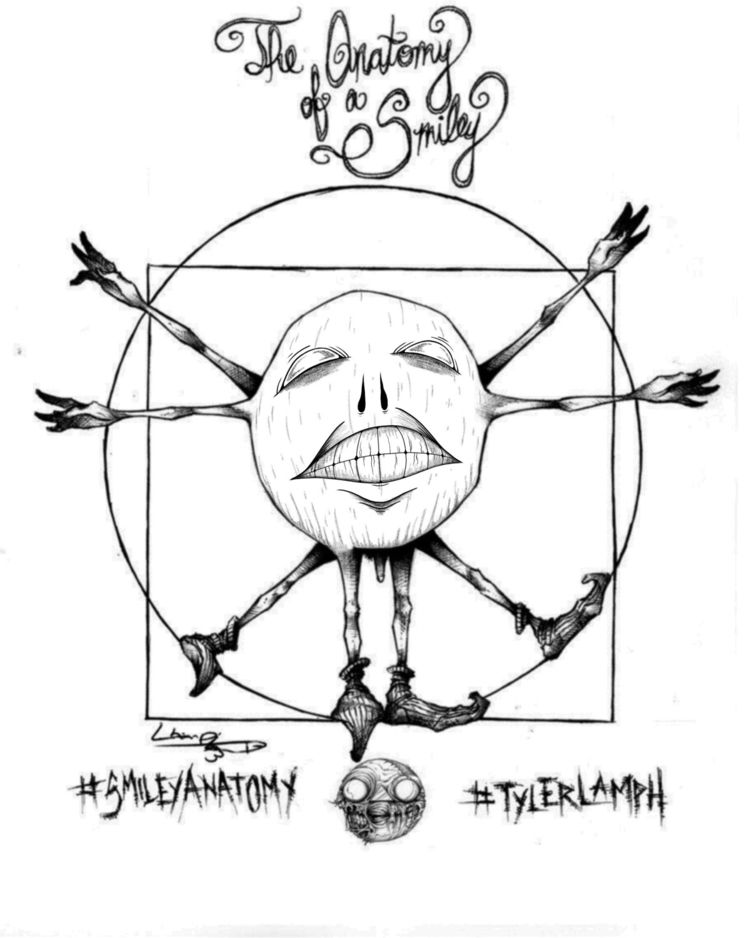 smileyanatomy contest.  - art, artwork - wozcooke | ello