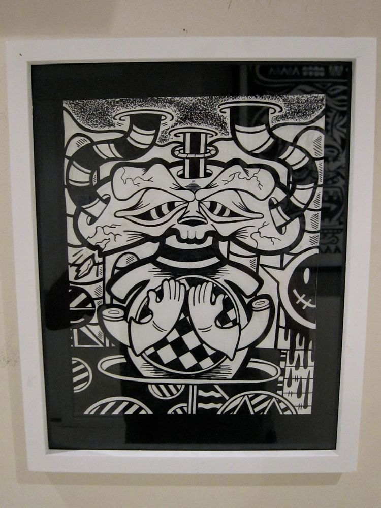 PRAy 8.5 11 ink paper ( framed  - andydass | ello