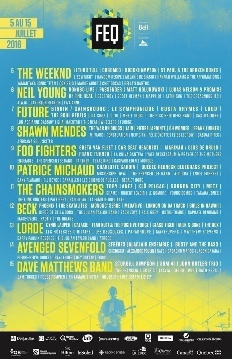 Quebec Summer Festival Announce - mxdwn | ello