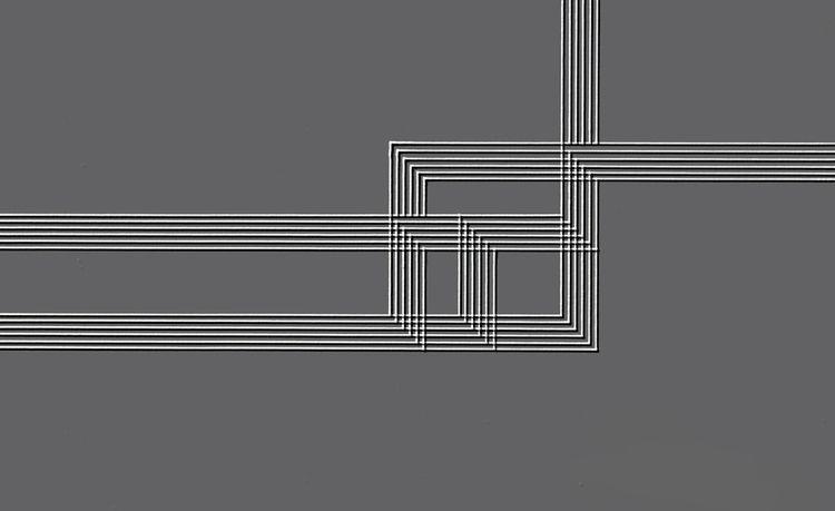 Parallel black white lines 01 D - istvanocztos | ello
