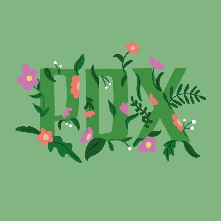 Springtime Portland - illustration - bsemibold | ello
