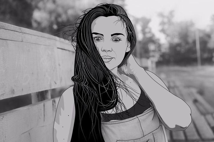 Black ART - Illustration, graphicdesign - painter_ | ello
