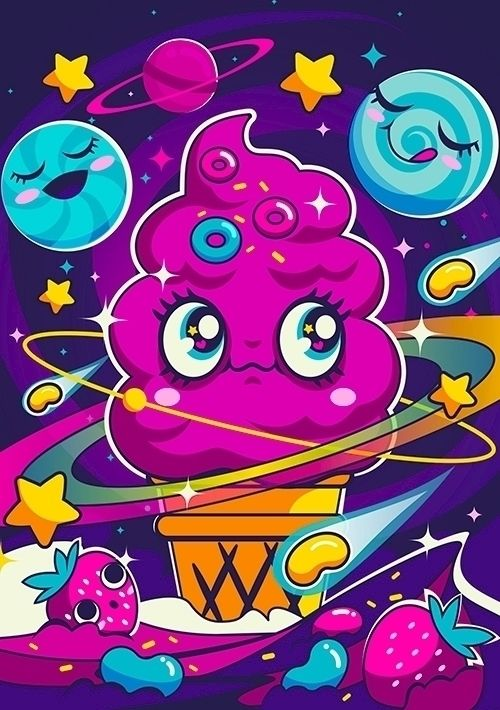 Sugar High: Cosmic Swirl sugar  - bo0nsai | ello