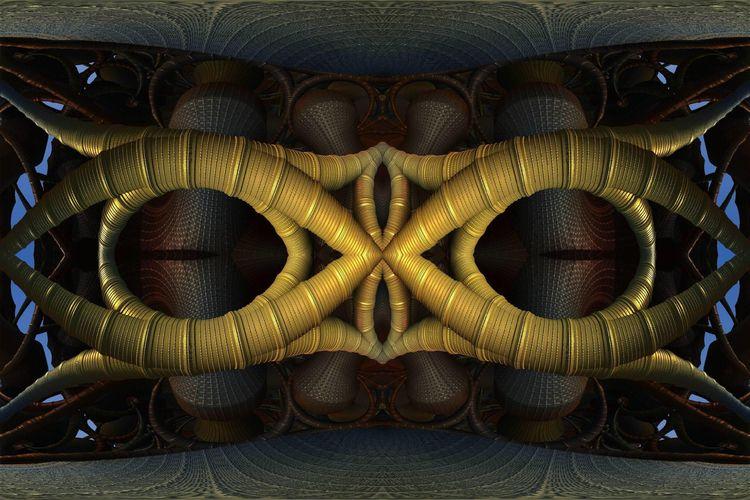 infinity mandelbulb3d fractal - zygzwurx   ello