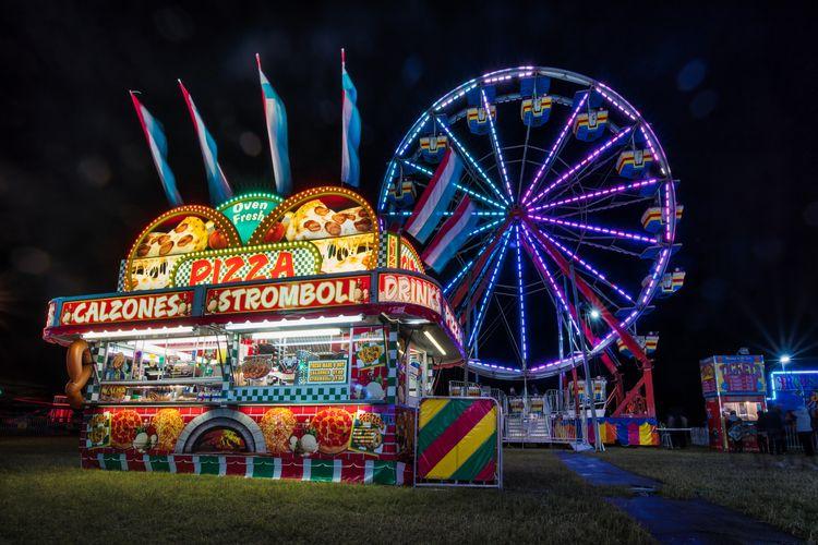 kind eerie music, lights - carnival - rickschwartz | ello