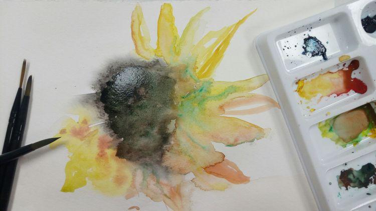 primary watercolor project resc - bruceruns | ello