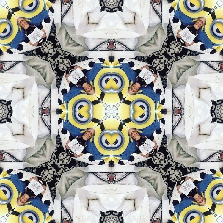 Minionsrules - symmetry, photoedit - giupskgiups | ello