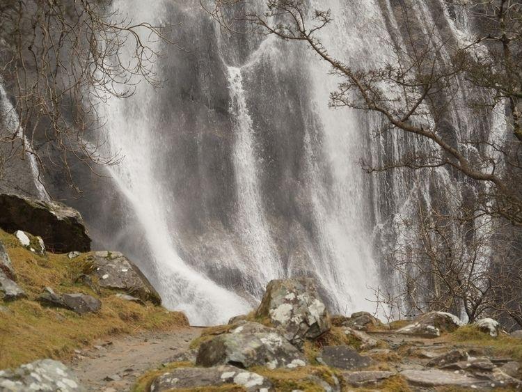 Waterfall, AberFalls - neilcrump | ello