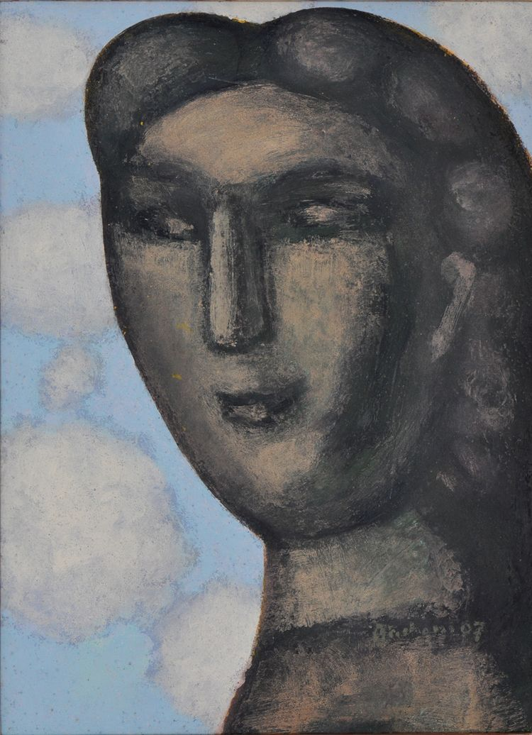 Frau mit Morgenhimmel - lightaestel | ello
