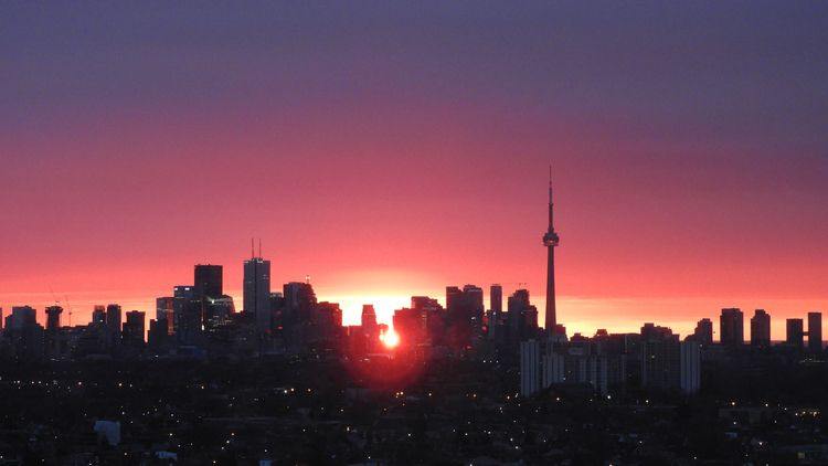 Toronto Skyline Sunrise - the6ix - koutayba | ello