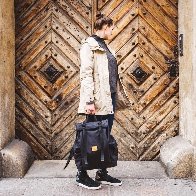 Meet roll top backpack Agnel, i - velotton | ello