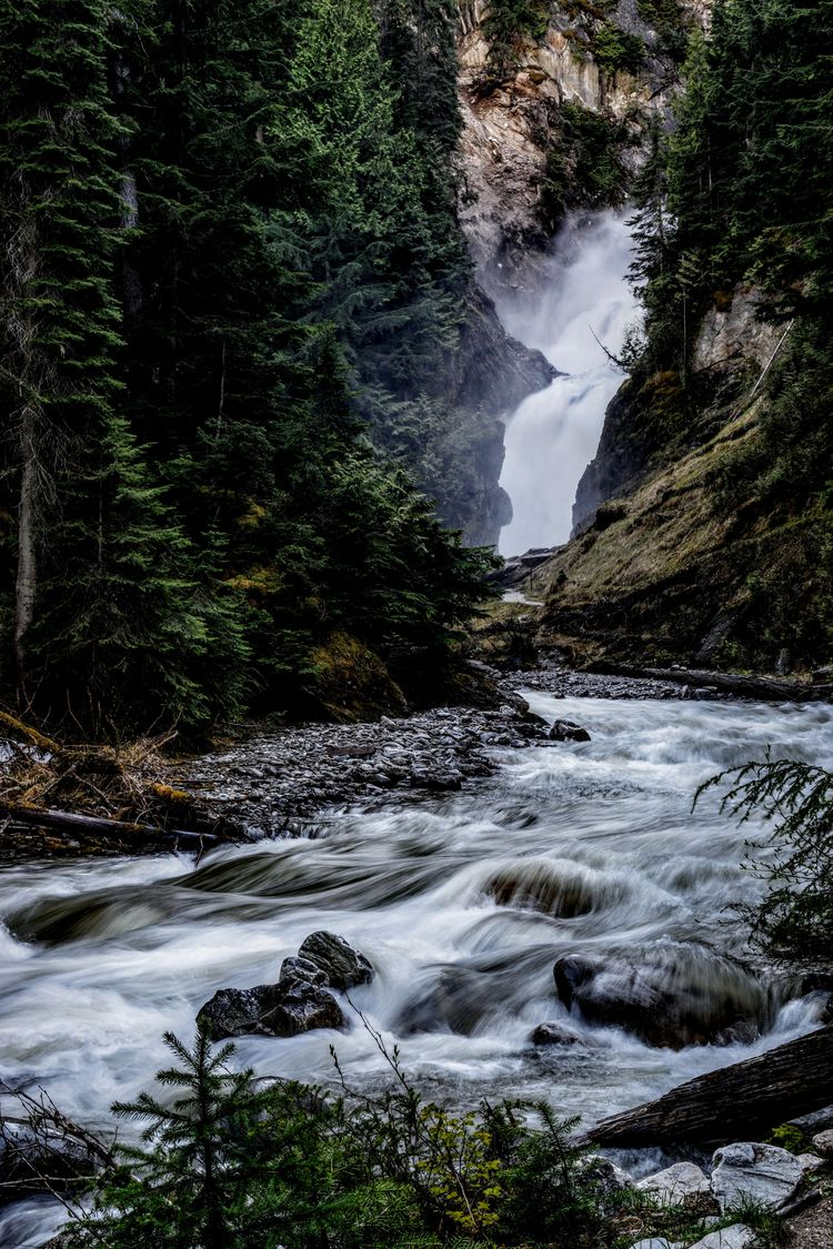 Bear Creek Falls Driving Rogers - camwmclean | ello