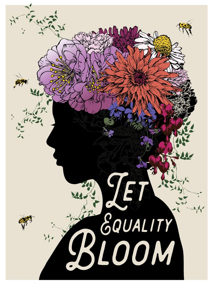 EQUALITY BLOOM - created March  - brookefischer | ello