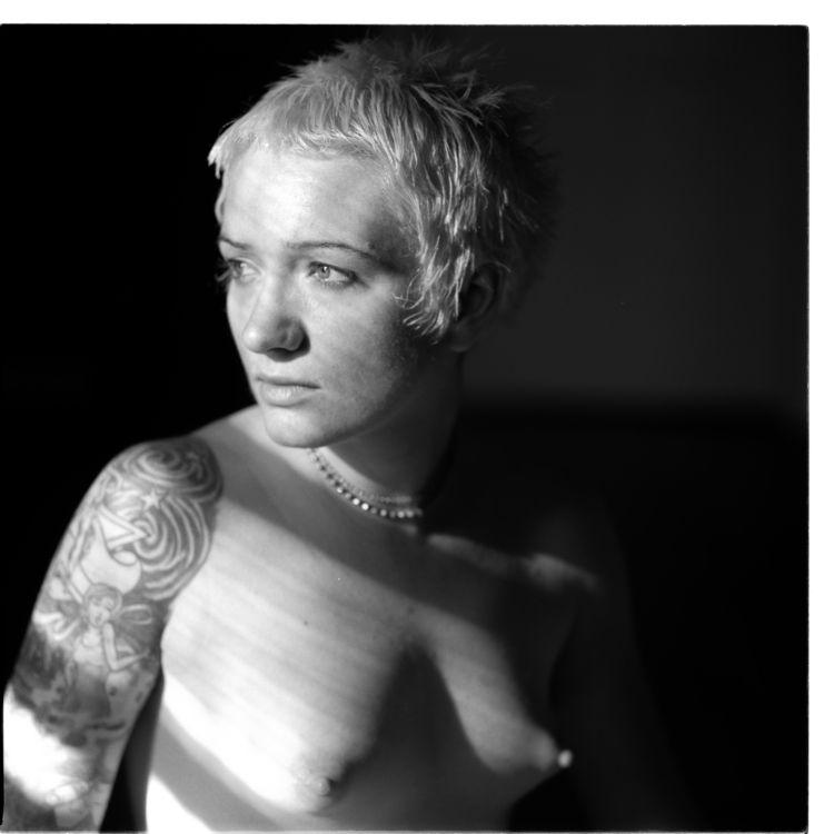 nsfw, topless, tattoo, boobs - heycalvin | ello