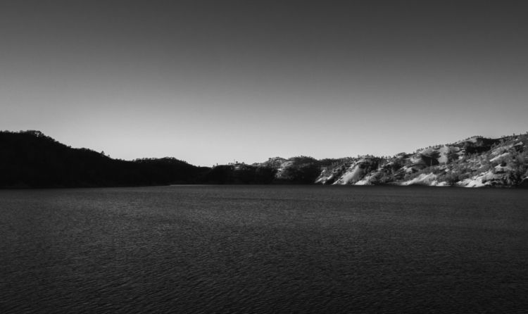 Lake Berryessa, CA - Landscape, BlackAndWhite - aaronvizzini | ello