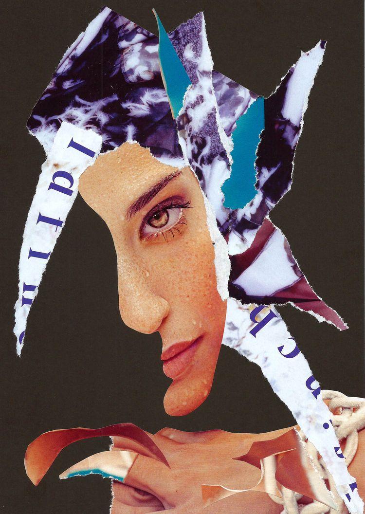 Brown Eyed Woman - collage, dada - graemejukes | ello