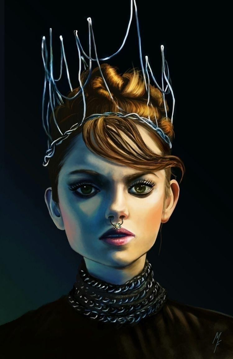 wanna queen Study photo Tamina  - mariafloscher | ello