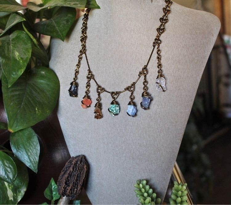 Gemstone chakra necklace .. 20 - mermaidtearshawaii | ello