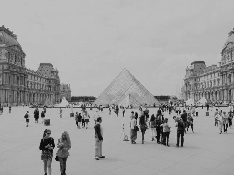 2014 - paris, photography, blackandwhite - lingayi   ello