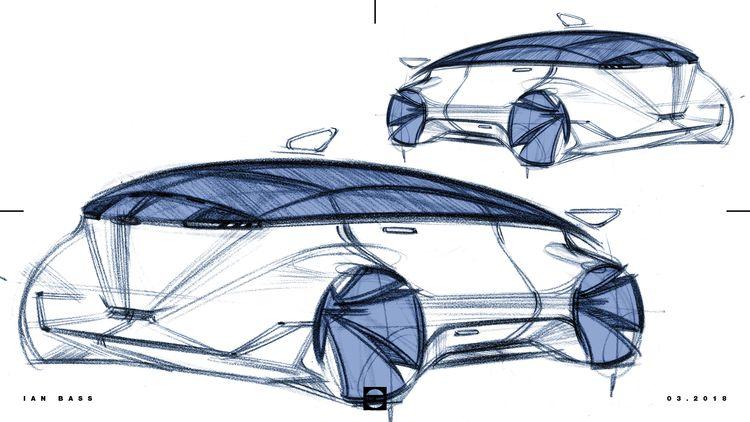 carsketch, cardesign, designsketch - ianbassdesign   ello