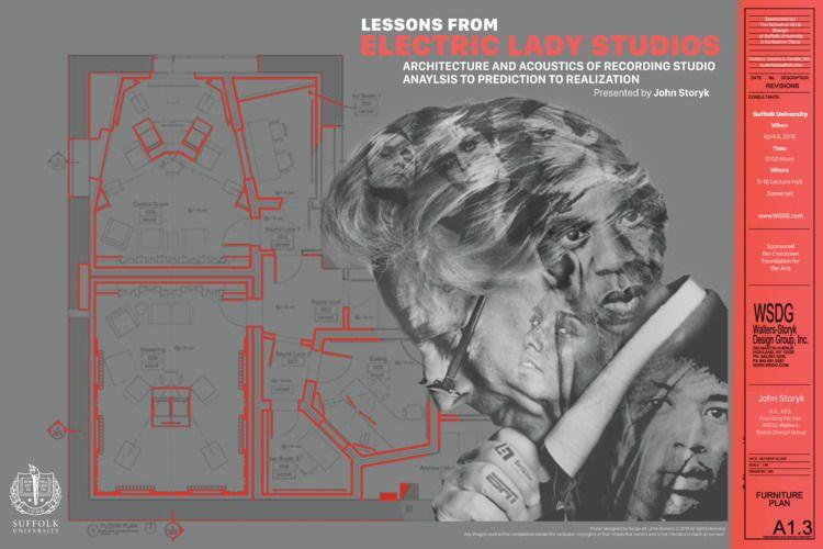 Poster Design John Storyk, arch - sergiodelamo | ello