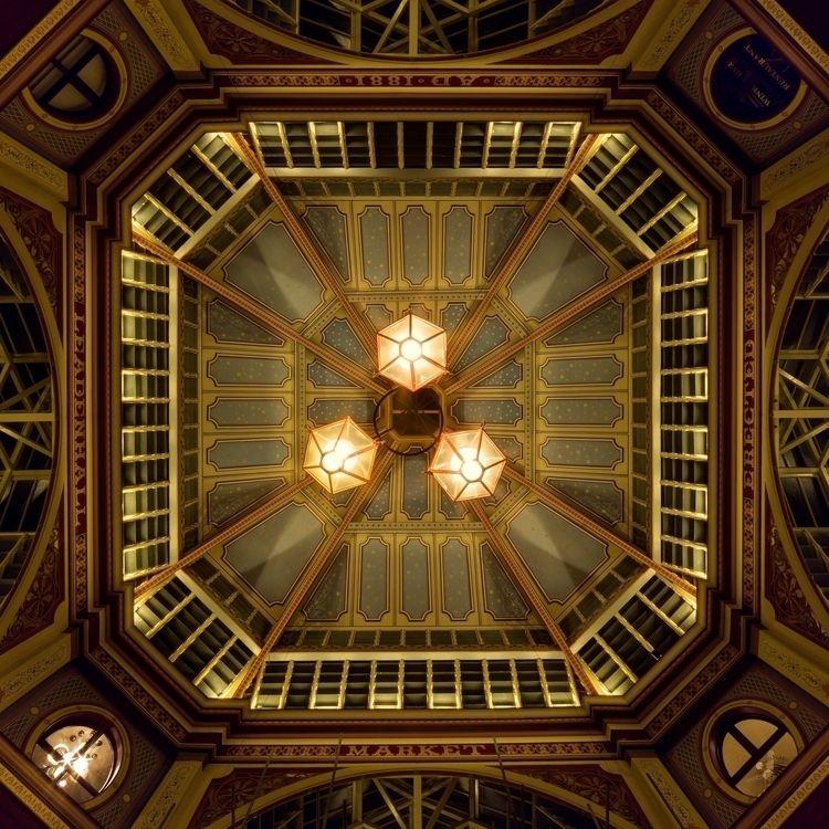 straight beneath central roof L - forgottenheritage | ello
