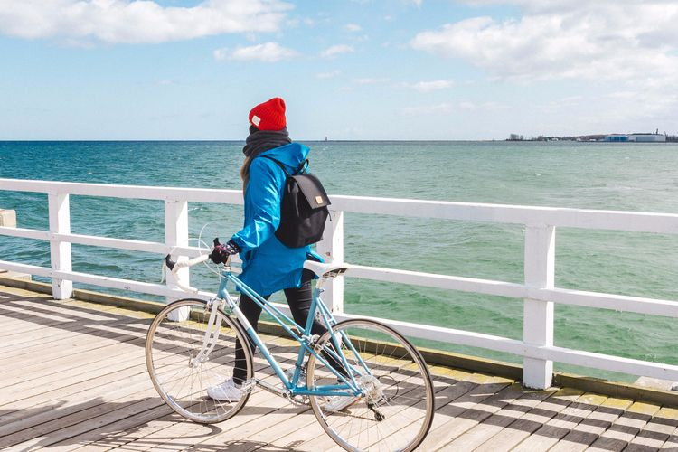 Bicycle, sea womens waterproof  - velotton | ello