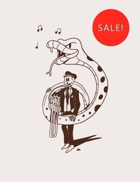 Ssssweet Tuba Prints 10$!! limi - jessienewhouse | ello